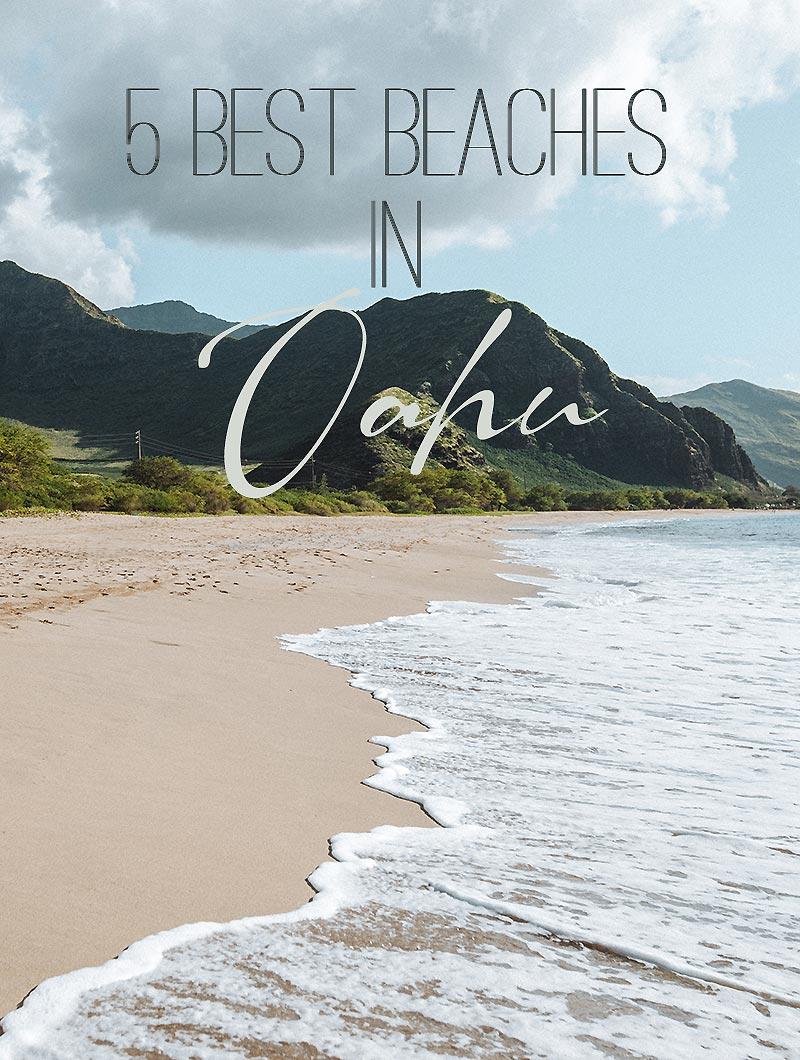 5 Best Beaches In Oahu