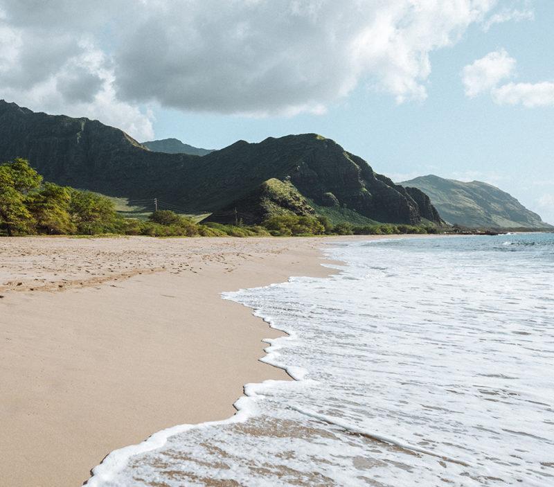 best beaches in oahu makua beach