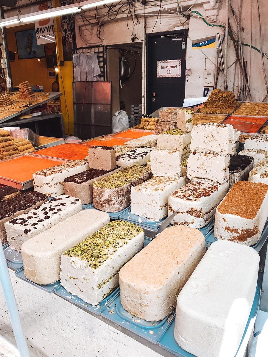 carmel-market-tel-aviv-israel-desserts