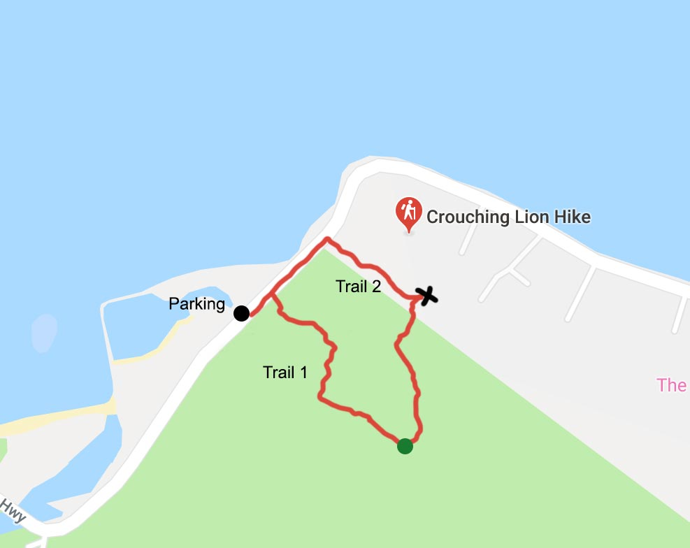 Crouching Lion Hike Detailed Guide With Map • Stay Close