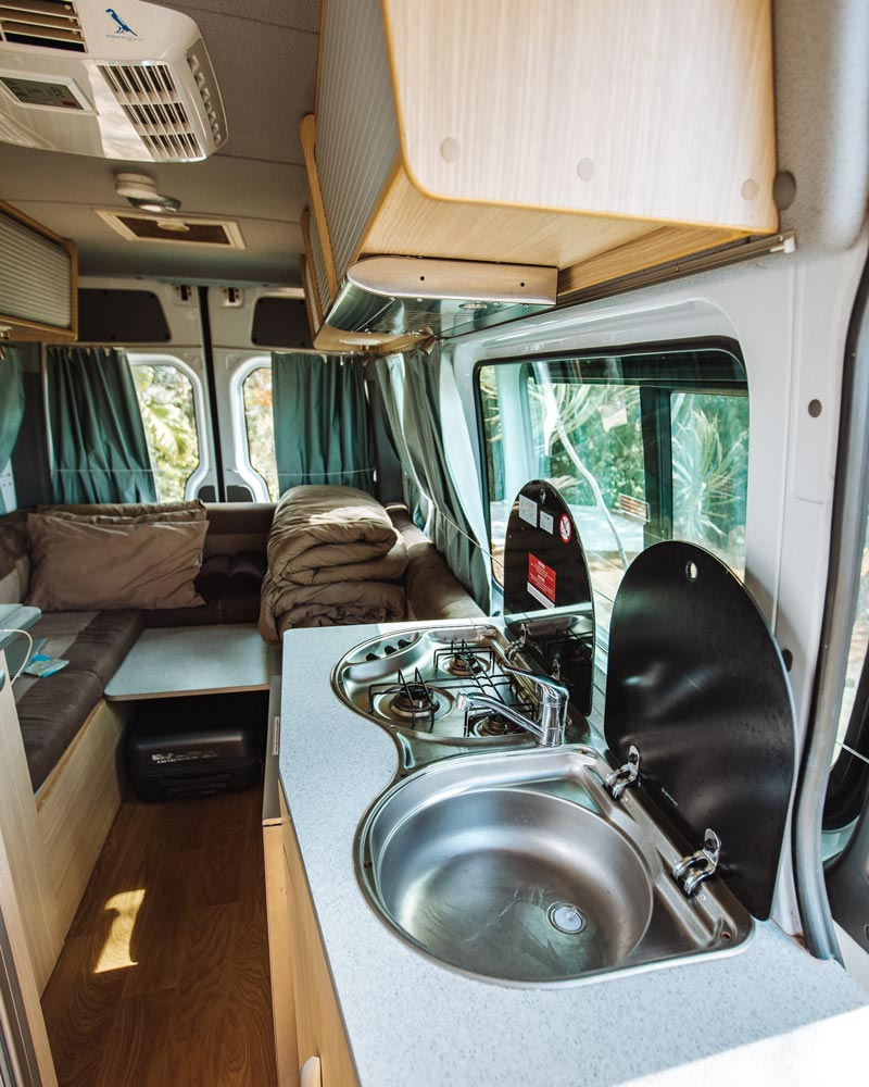 campervan-inside-convertible-bed
