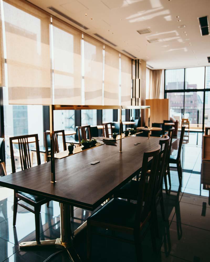 candeo-hotel-shimbashi-breakfast-area