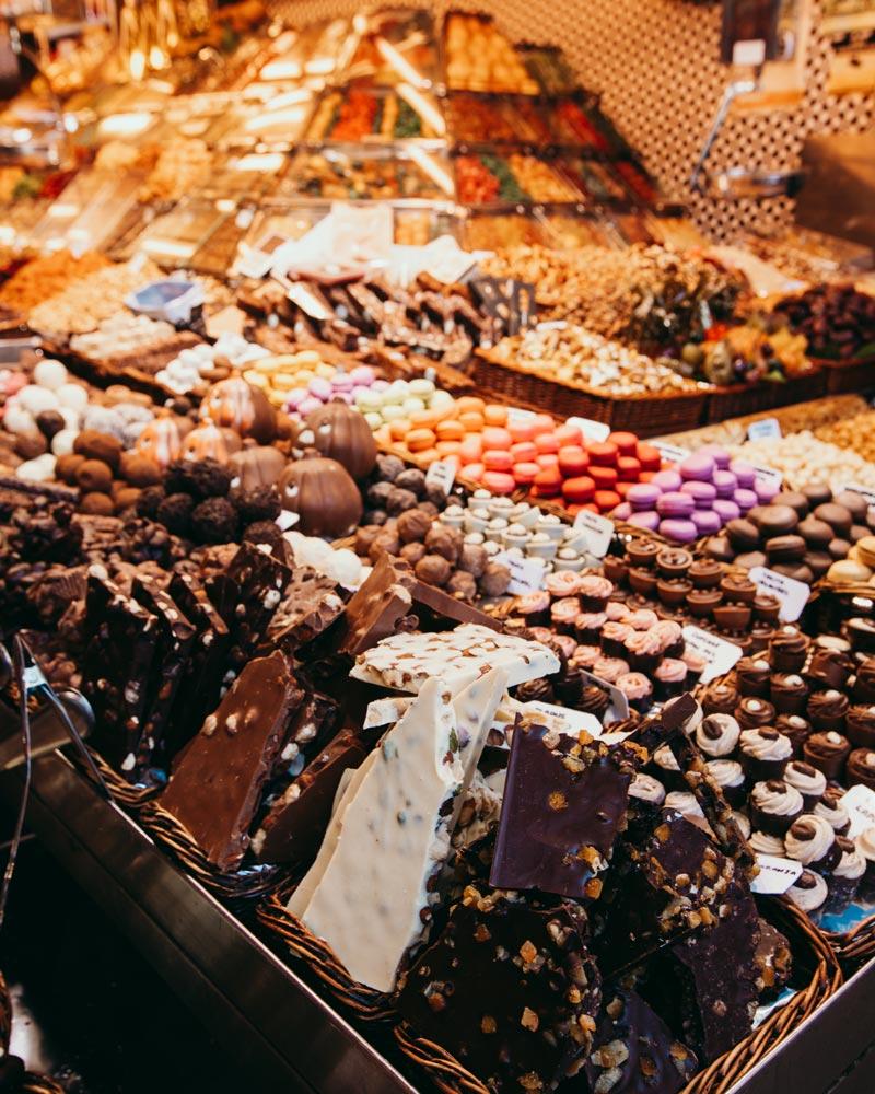 barcelona-itinerary-things-to-do-market