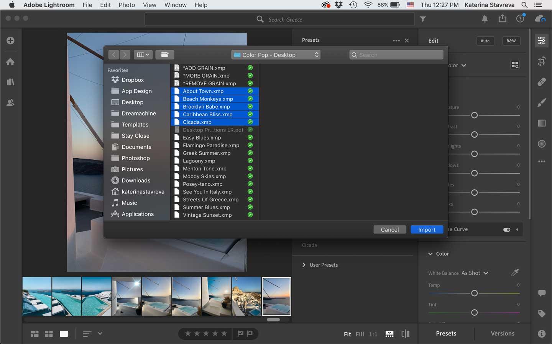 install-XMP-files